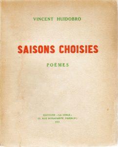 Saisons choisiés, 1921.
