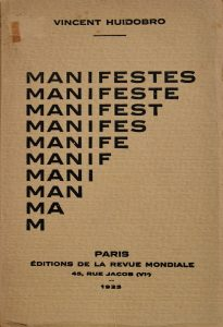 Manifestes, 1925.