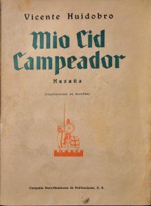 Mio cid campeador, 1929.