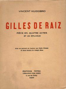 Gilles de Raiz, 1932.