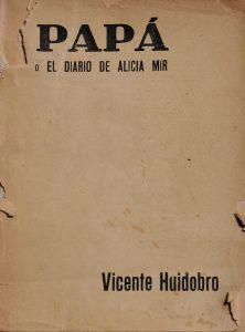 Papá o el diario de Alicia Mir, 1934.