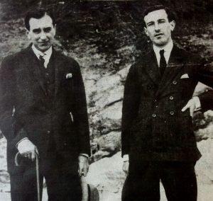 39. VH y Gerardo Diego, 1922