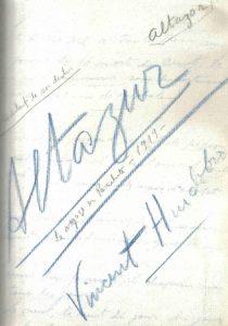 49. VH, manuscrito Altazor
