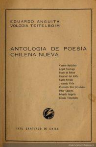 51. Antología de poesía chilena nueva,1935