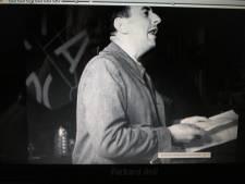 56. VH hablando en el II Congreso de escritores antifascistas, 1937