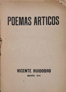 Poemas árticos, 1918.