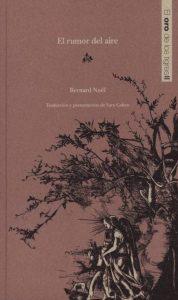 Bernard Noël libro