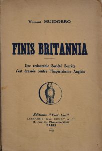 Finis Britannia, 1923.
