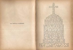 17. Poema La capilla aldeana