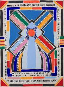 38. VH, Poemas pintados, El molino, 1921