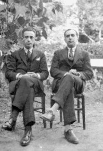 40. VH y Juan Larrea