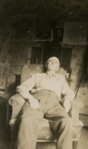 61. VH herido durante la Segunda  Guerra Mundial